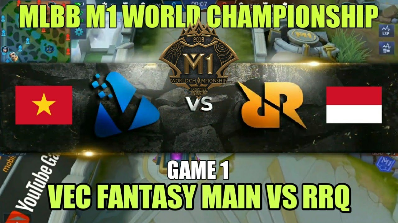 RRQ (Indonesia) vs VFM (Vietnam) • Game 1 | Grup A M1