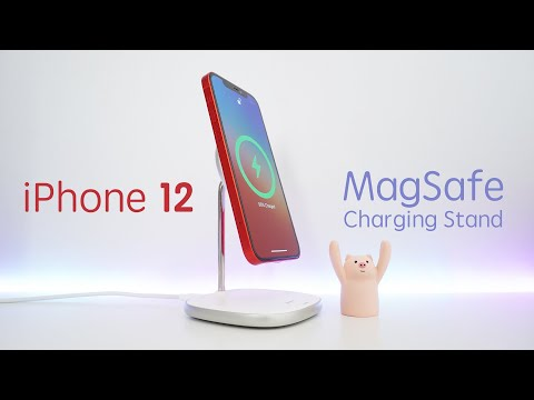 Baseus iPhone 12 MagSafe Magnetic Wireless Charger Stand Unboxing