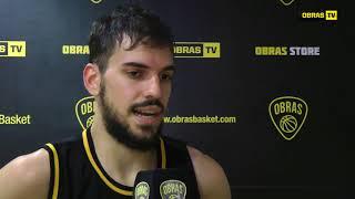 Pedro Barral Post Obras Basket 91 - 75 Weber Bahia (08-05-2018)