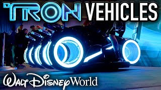 TRYING THE NEW TRON COASTER VEHICLES at the Magic Kingdom! - Disney News