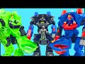 Download Batman Green Lantern Superman Battle Bane Lex Luthor Brainiac in Imaginext Robot Battle Slam Video