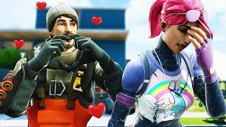 TURK FALLS IN LOVE WITH LITTLE KELLY | Fortnite Short Film
