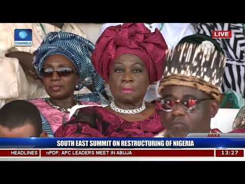 South East Summit On Restructuring Of Nigeria Pt.6 |Live Events|