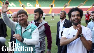 Mohamed Salah given honorary citizenship by Chechen leader