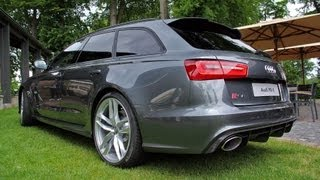 2014 Audi RS6 Avant C7 - Start up, Revs + Overview!