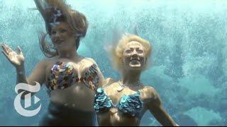 The Mermaids of Weeki Wachee Springs