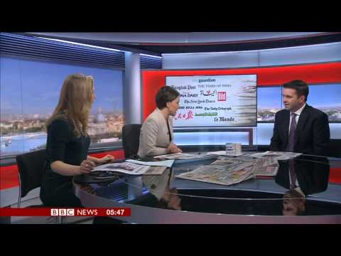 BBC News World Business Report & Paper Review 12 April 2013