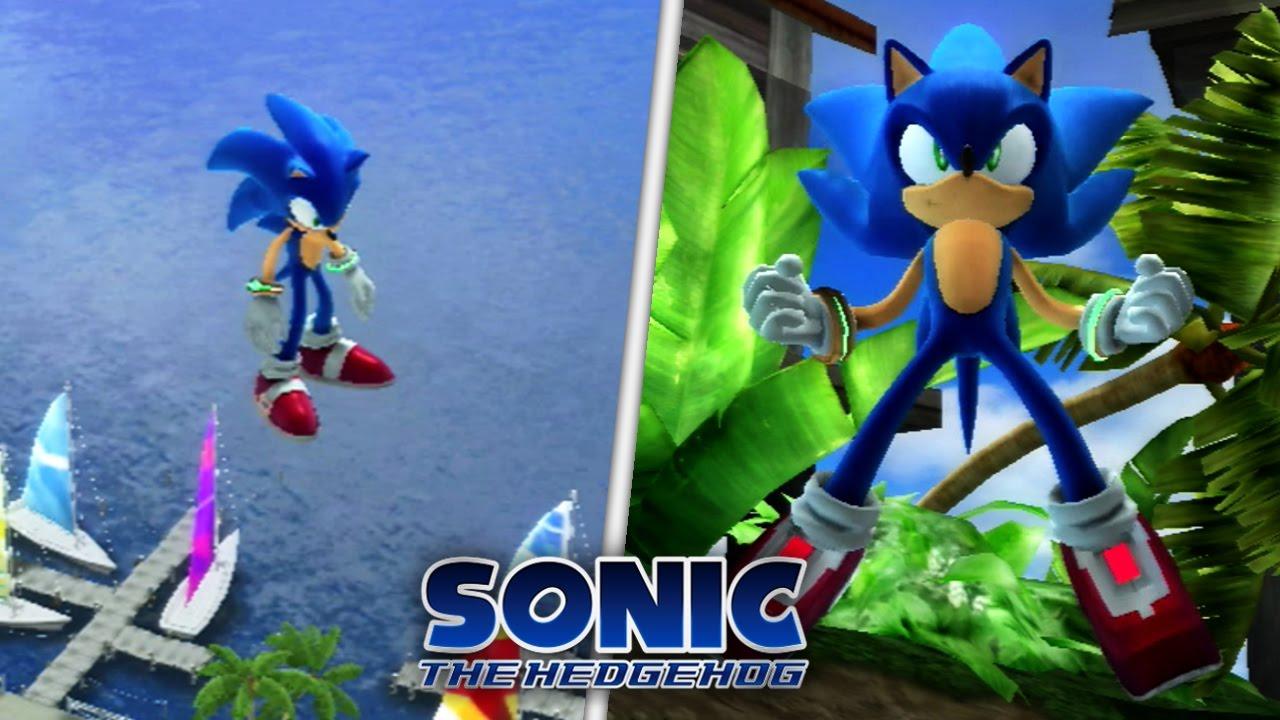 Sonic The Hedgehog (2006) Debug Mode And Rainbow Gem Mod