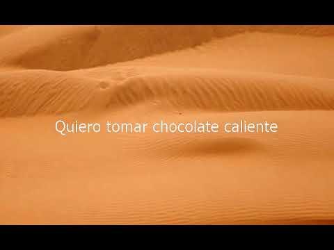 How do u say hot chocolate in spanish