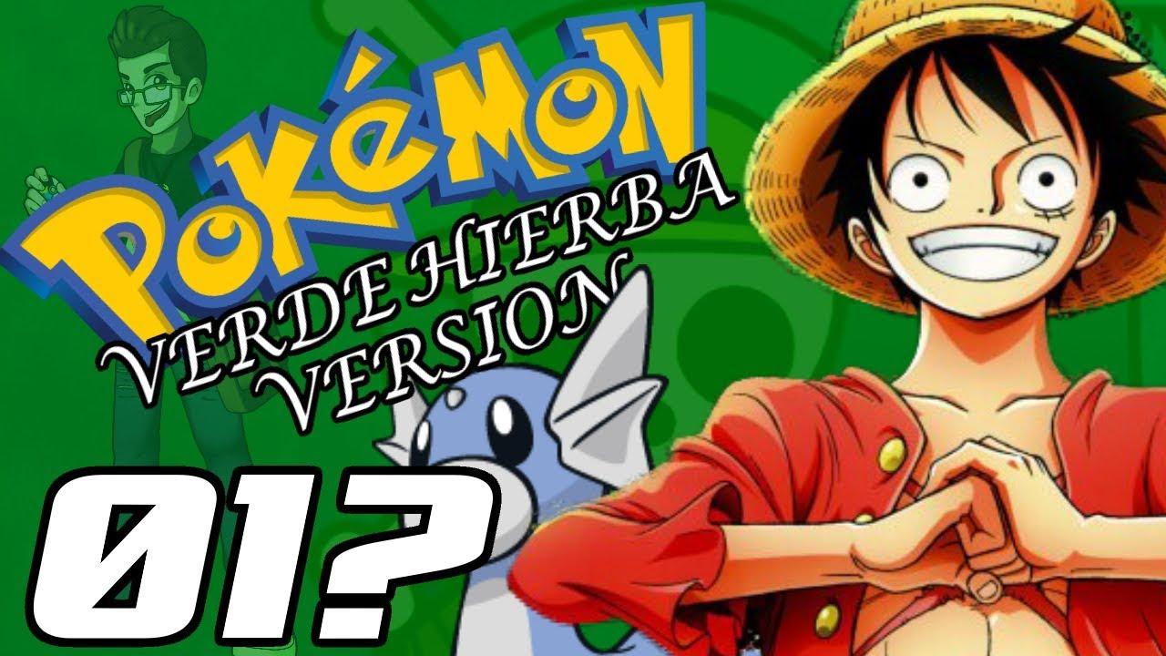 pokemon and one piece pokemon verde hierba version w