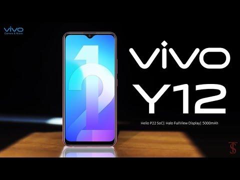 Vivo Y12 Price Official Look Design Specifications Camera