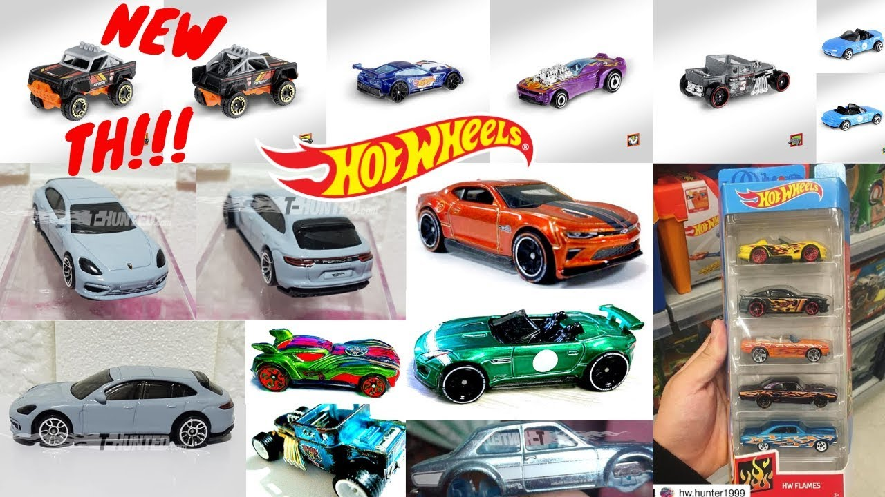 hot wheels 2019 treasure hunt k case cars new 5 pack. Black Bedroom Furniture Sets. Home Design Ideas