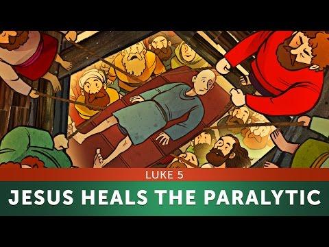 Jesus Heals The Paralytic-Luke 5 | Sunday School Lesson & Bible Story For Kids | Sharefaithkids.com