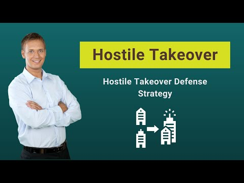 Hostile Takeover (Examples, Tactics) | Hostile Takeover Defense Strategy Mp3