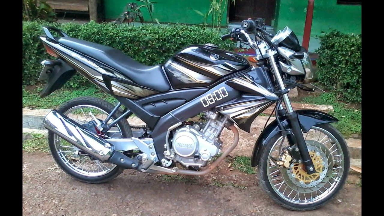 Ide 75 Modifikasi Motor Vixion Warna Hitam 2012 Terlengkap