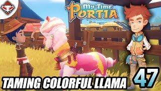 Taming Colorful Llama | My Time At Portia Indonesia #47