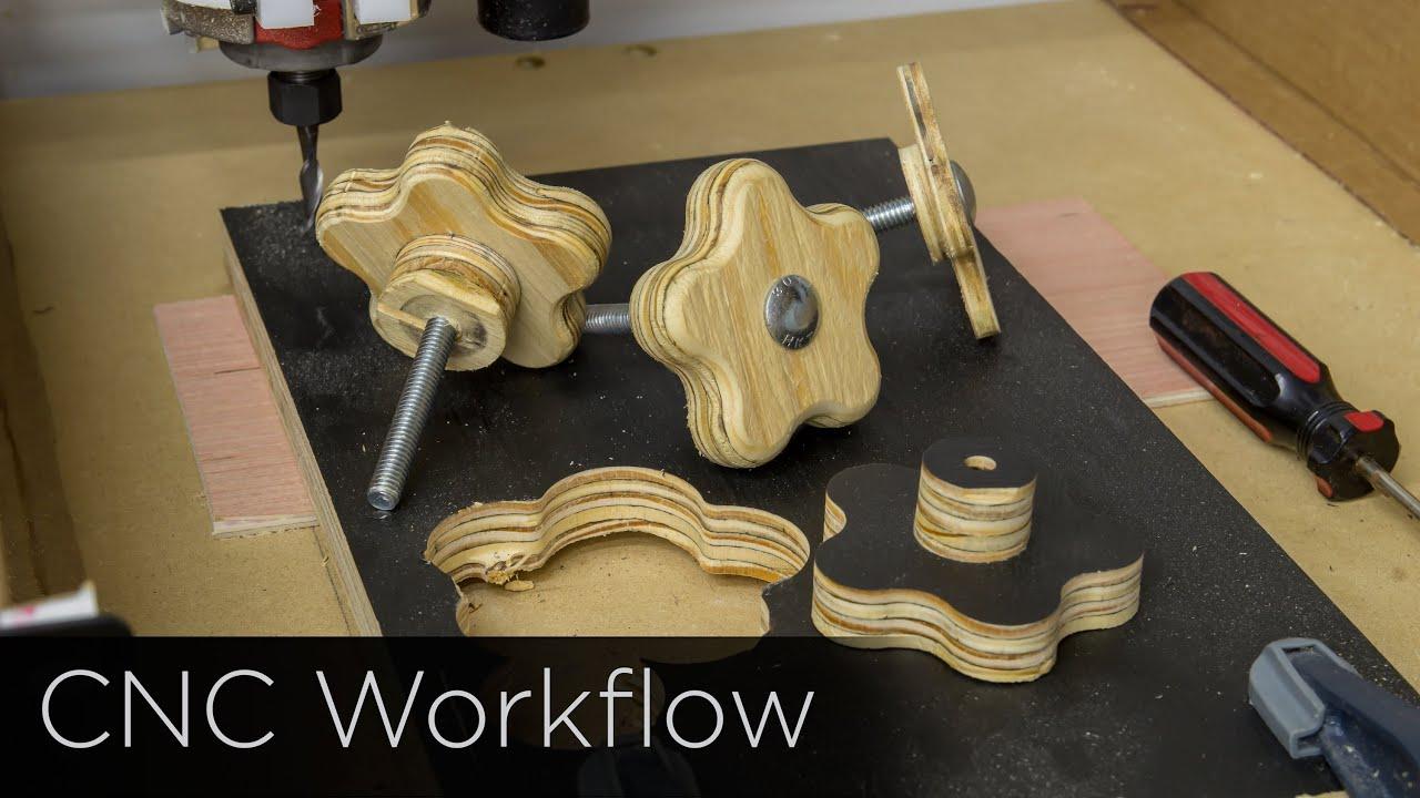 CNC Workflow: SketchUp, MakerCam, Universal Gcode Sender