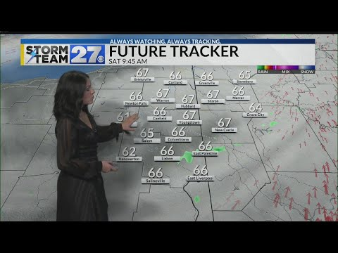 WATCH: Better weather for your weekend