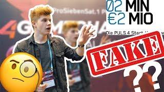 2 Minuten 2 Millionen ALLES FAKE?? - 4GameChangers Festival 2018   Piere VLOG Wien