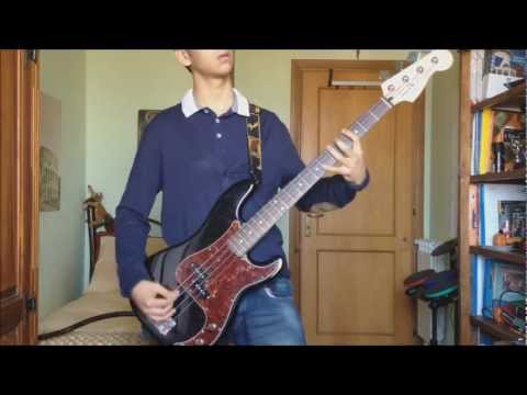 Green Day - Makeout Party ( Bass Cover ) with Solo and Tab