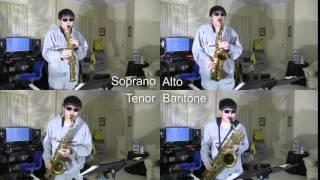 Saxophone Quartet: God Only Knows (Fugue)