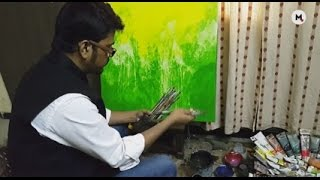 Indian Artist Pradip Sengupta: Living On A Healthy Diet Of Colors