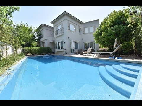מעולה בתים פרטיים למכירה ברמת גן   וילות למכירה ברמת גן - YouTube FV-76