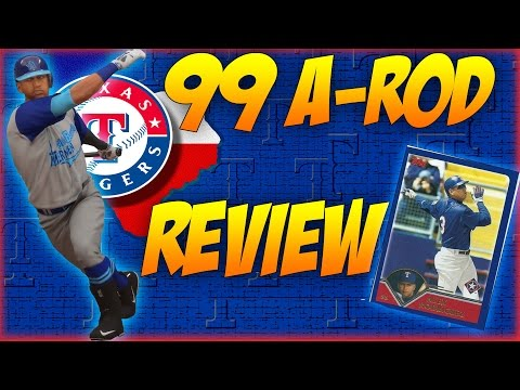 MLB The Show 16 Flashback Review: 99 Rangers Alex Rodriguez