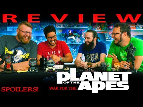 """War for the Planet of the Apes"" SPOILER DISCUSSION and MOVIE REVIEW!"