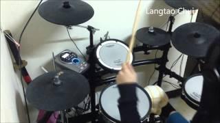 分島花音 ダンまち Danmachi ED Right Light Rise 叩いてみた Drum cover