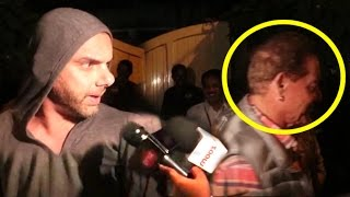 Sohail Khan Misbehaves With Reporter For Harass...