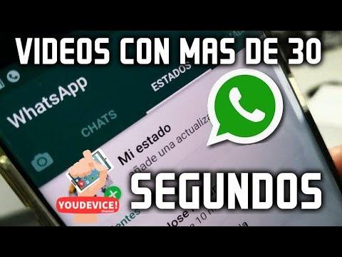 Como Subir Videos Extensos De Más De 30 Segundos En Los Estados De Whatsapp