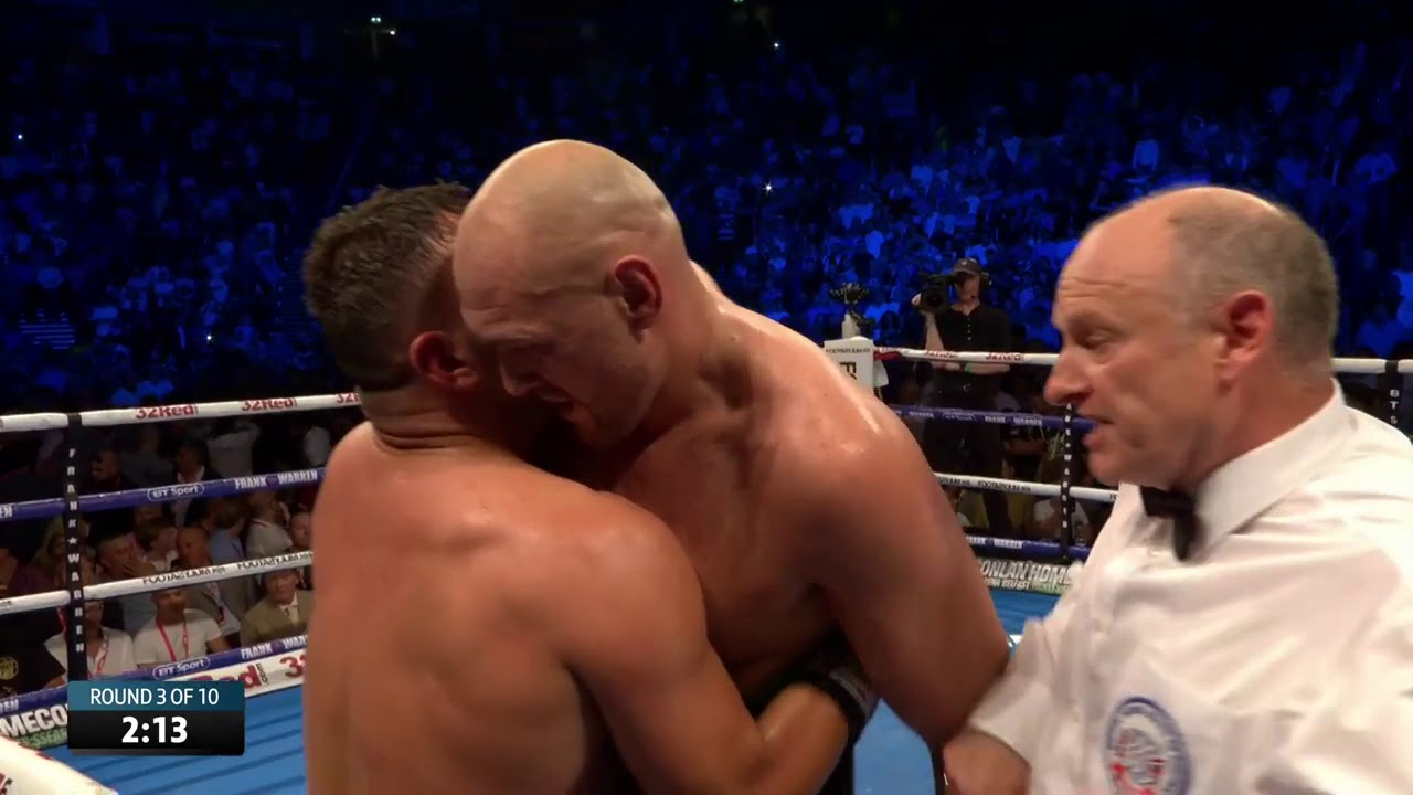 Tyson Fury vs Sefer Seferi funny boxing