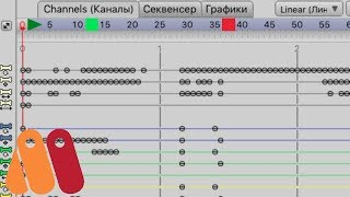 Anime Studio Pro (Moho) Красный/Зеленый маркеры на Timeline. Как убрать? Не проигрывается анимация
