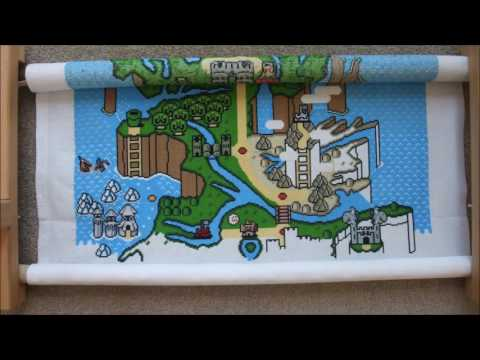 Game Of Mushrooms Kingdoms - Cross Stitch