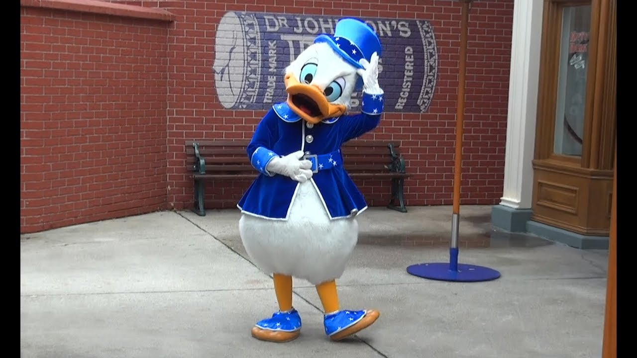 Skrblik Uncle Scrooge In His 25th Anniversary Outfit