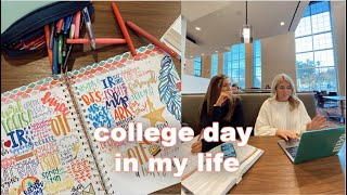 VLOGMAS DAY 2: a typical day in my life at college!