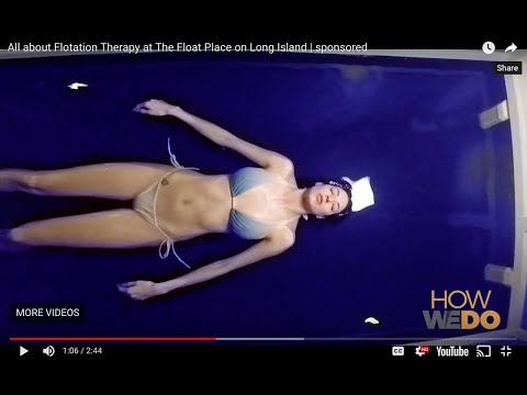 All about Flotation Therapy at The Float Place on Long Island | sponsored