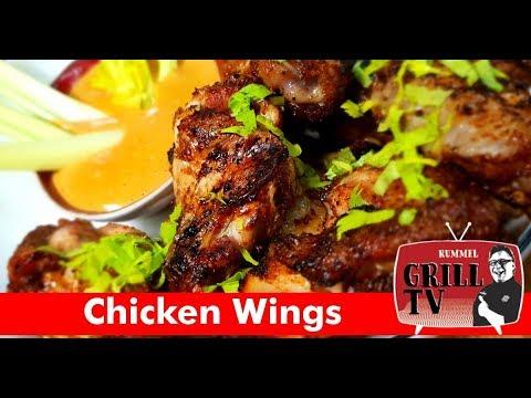 Buffalo Chicken Wings mit Chicken Cheese Dipp