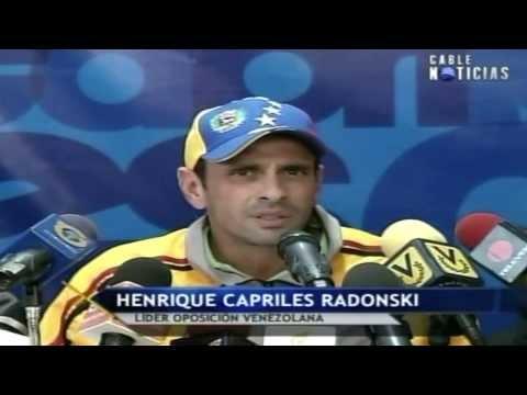 Capriles pide a Maduro mostrar pruebas del presunto golpe de Estado