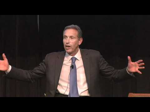 Howard Schultz, CEO of Starbucks - Voices of Experience