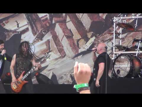 Disturbed - Killing In The Name feat. Austin Carlile (Of Mice & Men) live 2016 Rock im Park