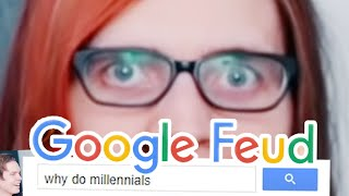 Why, millennials WHY?! | Google Feud (with my sad friend Roomie)