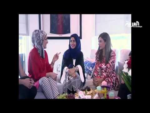 #حامل_ولكن : مذيعة العربية تعلن جنس مولودها بطريقة مبتكرة