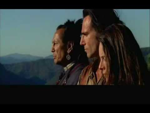 Final scene, The Last of the Mohicans (alternate end)