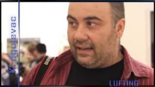 LUFTING Marko Stamatovic i Steve McCurry Fotorama Kragujevac 03 07 2013 god
