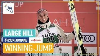 Karl Geiger | Men's Large Hill #2 | Lahti | 1st place | FIS Ski Jumping