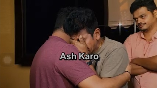 Shivanna Crying After Watching Rajakumara