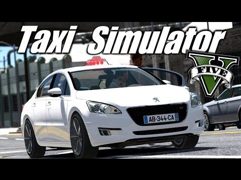 GTA 5 : TAXI SIMULATOR
