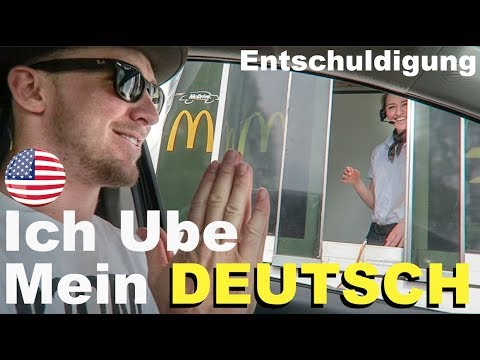 AMERICAN tries to speak GERMAN at McDonalds!